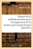 Couret - Manuel de la méthode-omnibus pour l'enseignement de la lecture.