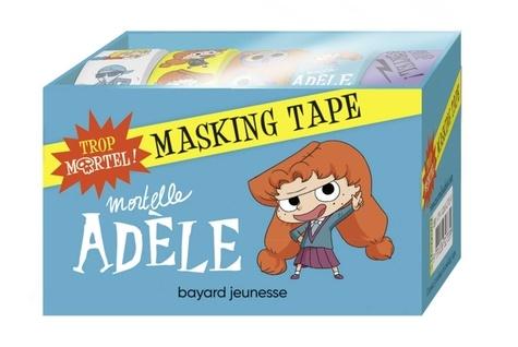 Mr Tan et Diane Le Feyer - Masking tape Mortelle Adèle - Trop mortel ! Avec 5 rouleaux de masking tape.