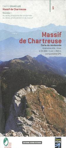 Didier Richard Libris - Massif de Chartreuse - Carte de randonnée 1/35 000.
