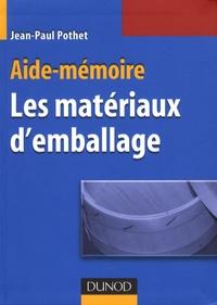 Jean-Paul Pothet - Matériaux d'emballage.