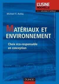 Michael Ashby - Matériaux et environnement - Choix éco-responsable en conception.