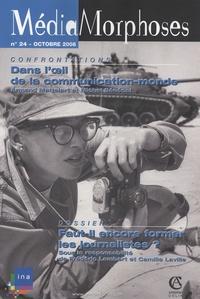 Frédéric Lambert et Camille Laville - MédiaMorphoses N° 24, Octobre 2008 : Faut-il encore former les journalistes ?.