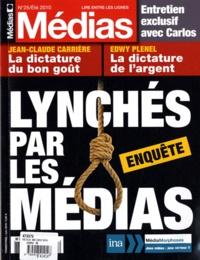 Robert Ménard et Emmanuelle Duverger - Médias N° 25 Eté 2010 : Lynchés par les médias.