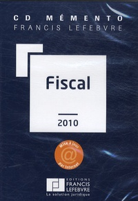 Francis Lefebvre - Mémento Fiscal - CD-ROM.