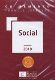 Francis Lefebvre - Mémento Social - CD-ROM.