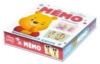 Hachette Jeunesse - Mémo Disney Baby - 1 à 4 joueurs, 16 paires à assembler, 32 cartes.