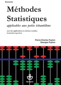 Pierre-Charles Pupion et Georges Pupion - Méthodes statistiques applicables aux petits échantillons.