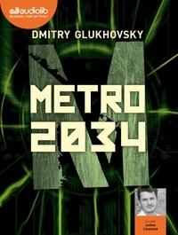 Dmitry Glukhovsky - Métro 2034. 2 CD audio MP3