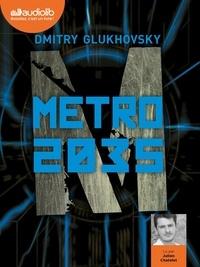 Dmitry Glukhovsky et Julien Chatelet - Métro 2035. 2 CD audio MP3