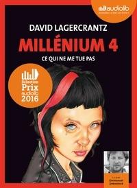 David Lagercrantz - Millénium Tome 4 : Ce qui ne me tue pas. 2 CD audio MP3
