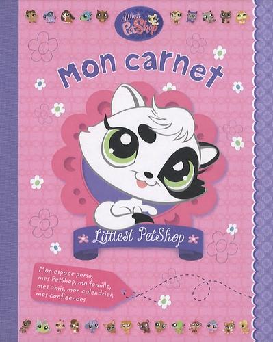 Hachette - Mon carnet Littlest PetShop.