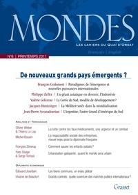 François Godement et Philippe Zeller - Mondes N° 6, Printemps 2011 : De nouveaux grands pays émergents ?.