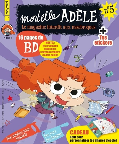 Mortelle Adèle N° 5, octobre-novemb