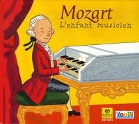 Fabrice Bravard et Frédéric Rébéna - Mozart, l'enfant musicien - CD audio.