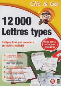 Collectif - 12 000 lettres types - CD-ROM.