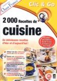 Collectif - 2000 recettes de cuisine - CD-ROM.