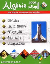 Nova Intelligence et  Challenge Multimedia - Algérie 2003 : une histoire un peuple une passion - CD-ROM.