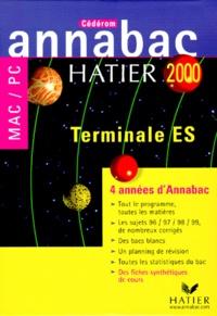 Pascale Gallou et  Eductique - Annabac 2000 Tle ES - 4 années d'Annabac. 1 Cédérom