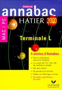 Pascale Gallou et  Eductique - Annabac 2000 Tle L - 4 années d'Annabac. 1 Cédérom