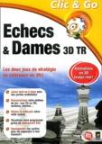 Anonyme - Echecs & Dames 3D temps réel - CD-ROM.