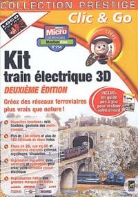 Hachette - Kit train électrique 3D. 1 Cédérom