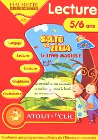 Hachette Multimédia - Lecture 5/6 ans - Salto et Zélia, le livre magique, CD-ROM.