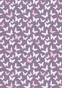 XXX - Mynotebook papillonsmauve seyes,96p,a5.