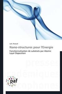 Loïc Assaud - Nano-structures pour l'énergie - Fonctionnalisation de substrats par Atomic Layer Deposition.
