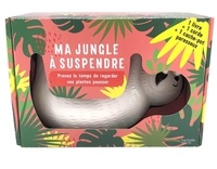 Hachette nature - Ma jungle à suspendre - Prenez le temps de regarder vos plantes pousser (1 livre + 1 corde + 1 cache-pot paresseux).