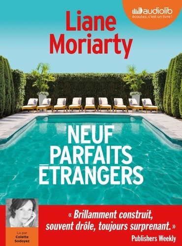 Liane Moriarty - Neuf parfaits étrangers. 2 CD audio MP3
