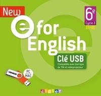 Mélanie Herment et Laura Cursat - New e for English 6e A1>A2. 1 Clé Usb
