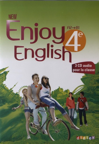 Odile Martin-Cocher - New Enjoy English 4e A2-B1. 1 DVD + 3 CD audio