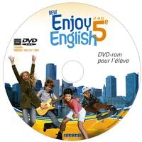 Catherine Marcangeli - New Enjoy English 5e A1-A2. 1 DVD
