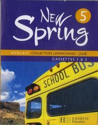 Julié - New Spring Anglais 5e - cassettes 1, 2, 3 & 4.