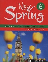 Hachette Education - New Spring Anglais - 4 Cassettes Audio pour la classe.