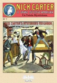 John Coryell - Nick Carter Tome 7 : Un voisin mystérieux.
