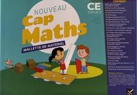Roland Charnay et Georges Combier - Nouveau Cap Maths CE cycle 2 - Mallette de matériel.