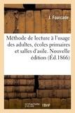 Fourcade - Nouvelle méthode de lecture en sept leçons.