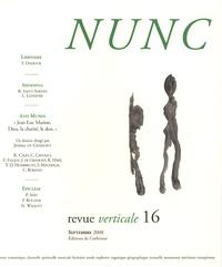 Jérôme de Gramont - Nunc N° 16, Septembre 200 : Jean-Luc Marion, Dieu, la charité, le don.