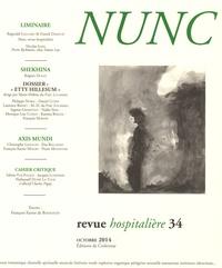Réginald Gaillard - Nunc N° 34, octobre 2014 : .