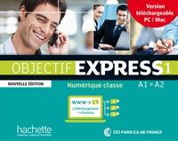 Béatrice Tauzin et Anne-Lyse Dubois - Objectif Express 1 A1/A2 - Carte numérique classe.