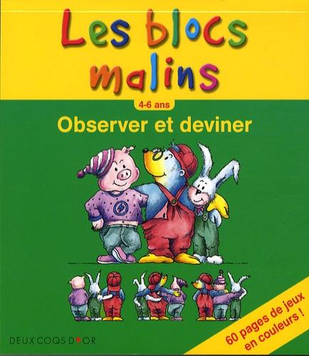 Hachette - Observer et deviner 4-6 ans.