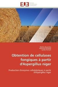 Collectif - Obtention de cellulases fongiques à partir d'aspergillus niger.