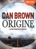 Dan Brown et François d' Aubigny - Origine. 2 CD audio MP3