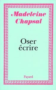Madeleine Chapsal - .
