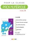 Valérie Lemeunier et Sophie de Abreu - Pack numérique pour la classe niveau 3 Ligne Directe. 1 Clé Usb