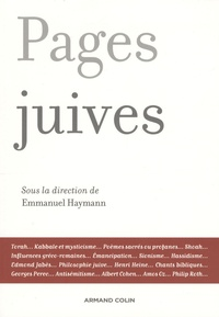 Emmanuel Haymann et Jean-Jacques Wahl - Pages juives.