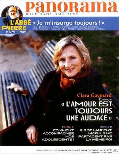 Bertrand Révillion et  Collectif - Panorama N° 396 : L'Aventure intérieure.