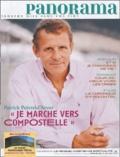 """Patrick Poivre d'Arvor et Christophe Chaland - Panorama N° 402 Septembre 200 : Patrick Poivre d'Arvor : """"Je marche vers Compostelle""""."""