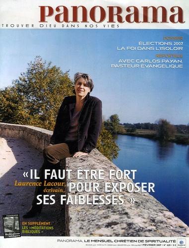 Bertrand Révillion et Laurence Lacour - Panorama N° 429, Février 2007 : Elections 2007 : la foi dans l'isoloir.